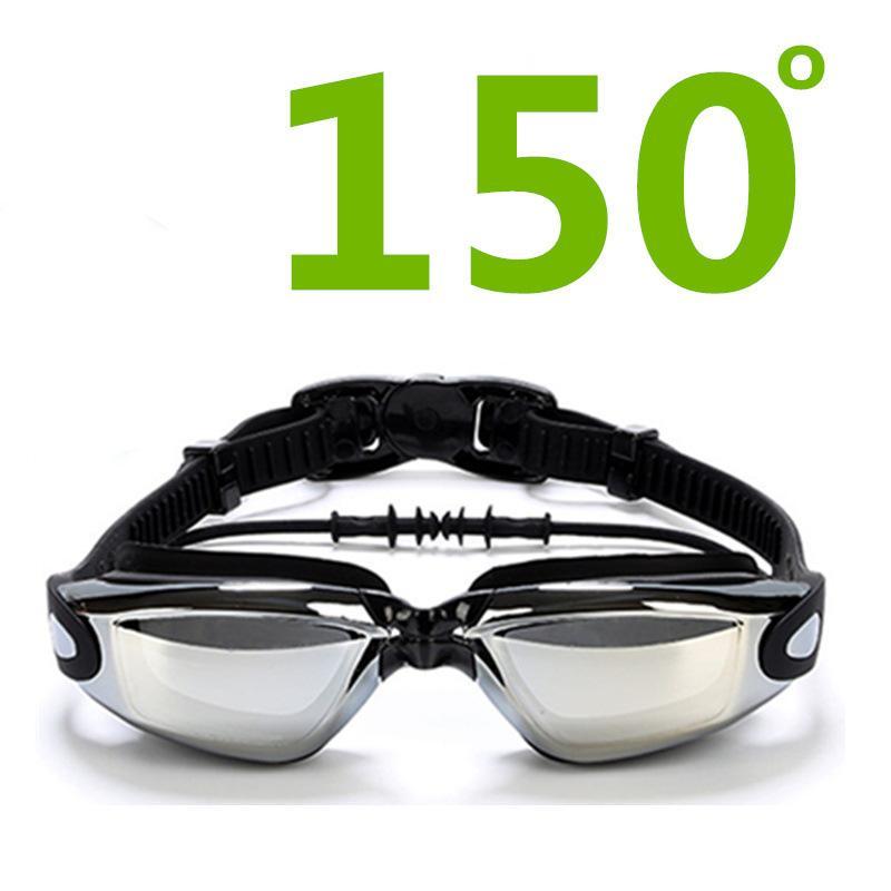 90f7b63bdd2 Nearsighted Swimming Goggles -0 to -8.0 Myopic UV400 Anti-fog ...