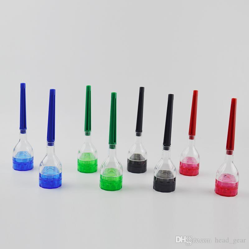 L'ARTISTE DE CONE Rolling Machine Cone Rolling Paper Maker Outil de filtre Dispositif En Plastique Rouleau Rouleau Détachable 4 Pièces