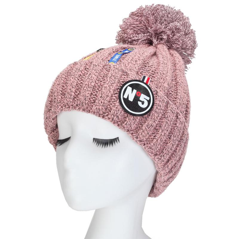 a01aee57521 New Add Lining Ski Snowboard Hat Female Knitted Winter Hat DX99-107 ...
