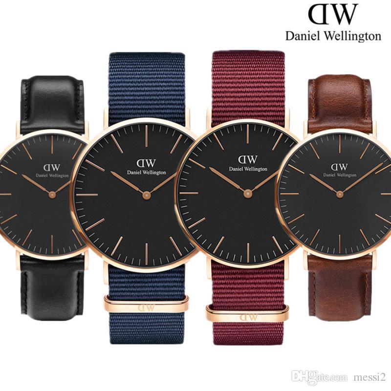 Compre 2019 Hombre Para Mujer Daniel Wellington Relojes 40mm Relojes Para  Hombre 36 Relojes Para Mujer DW Marca De Lujo Reloj De Cuarzo Reloj  Femenino ... a0045fe2b2a4