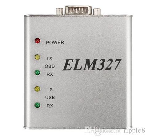 ELM327 USB MATEL 알루미늄 금속 대시 보드 데이터 25K80 OBD2 스캐너 ELM 327 코드 리더 Escaner Automotriz 자동 진단 토크