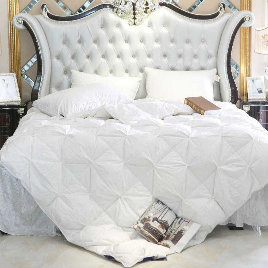 Wholesale- Peter Khanun White Duck Goose Down Filler 3D Bread Duvet ... 394097ca3