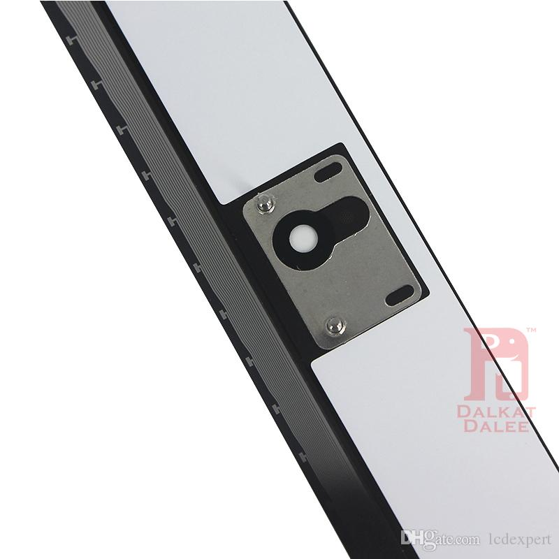 iPad 2 3 4 Screen Digitizer Vetro Touch Panel Parti di ricambio di ricambio Assemblaggio con adesivo adesivo Home Button ipad2 3 4