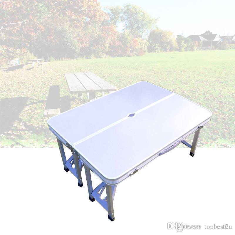 Tavoli E Sedie Da Camper.Acquista Pieghevole Esterno Tavoli E Sedie Combinazione Set Leggero