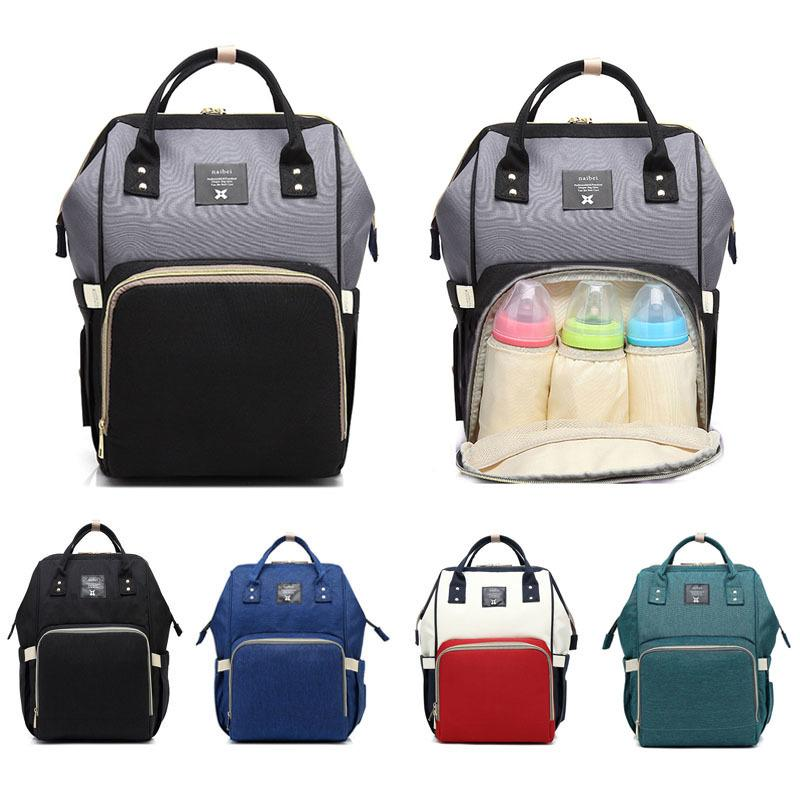 429e38a02143f6 Waterproof Baby Bag Travel Backpack Women Maternity Nursing Bag For Baby  Large Capacity Mom Backpack Women Carry Care Bags Y18110201 Cool Backpacks  Travel ...