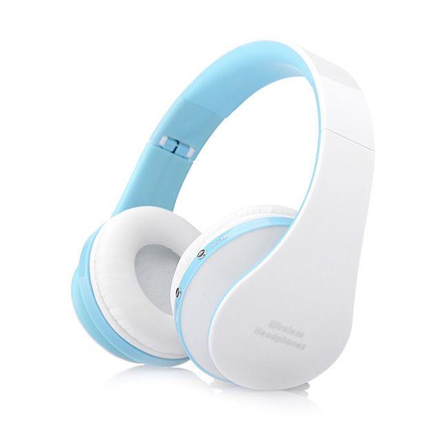 Foldable Handsfree Stereo Wireless Headphones Casque Audio Bluetooth Headset Cordless Earphone for Computer PC Head Phone Set
