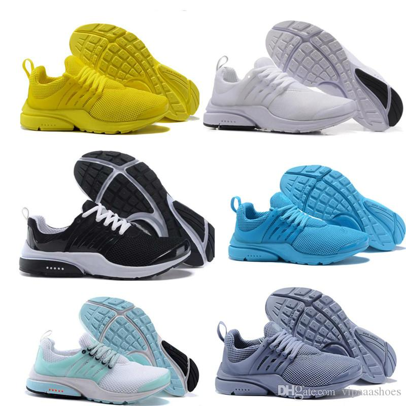 b7d22d3d781f 2019 Discount Running Shoes For Man Woman Presto Ultra Runner Triple Black  White Run Olympic Casual Shoes Mens Sneaker Sport Designer Shoes A04 From  ...