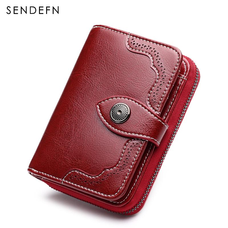c238f23d9f Sendefn 2018 New Small Wallet Casual Women s Purses And Wallets ...