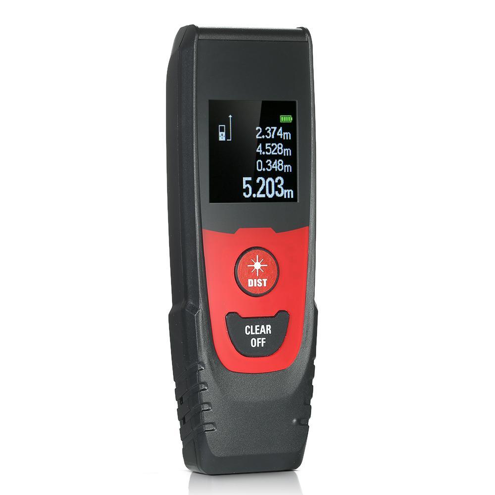 Mini laser rangefinder Handheld construction tools Digital Laser Distance Meter Range Finder tape measure Distance Measurement