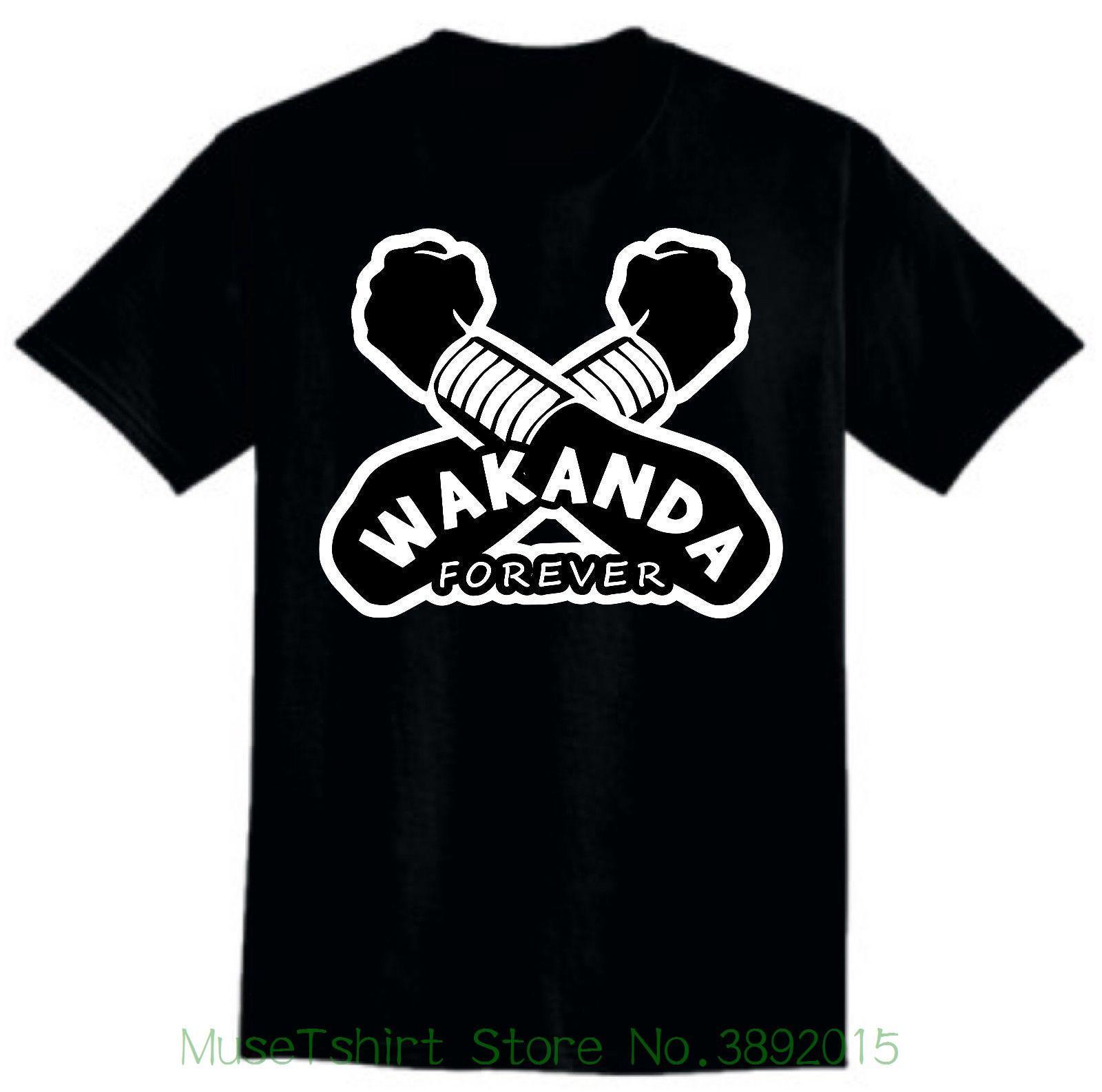 9c8240424 Straight Outta Wakanda T-shirt Wakanda , Black Panther Shirt Men Women Kid  Shirt Men New High Quality Online with $15.38/Piece on Musetshirtstore's  Store ...