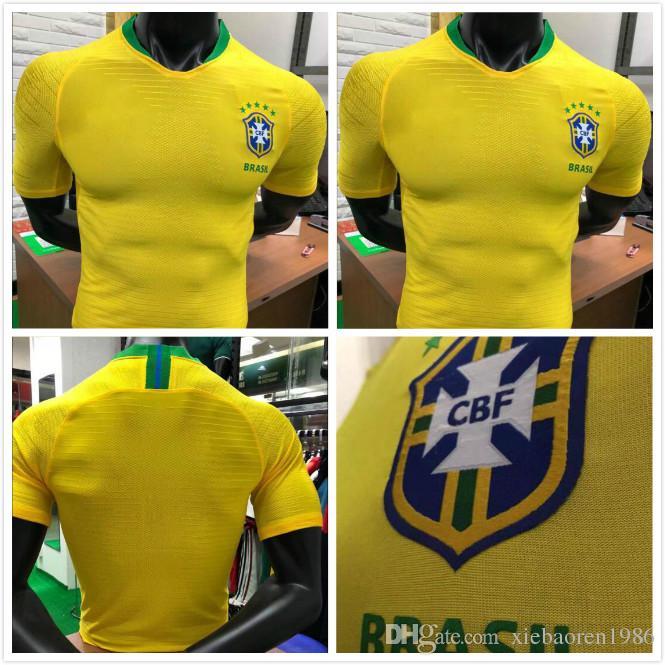 cb2de4673 Player Version PAULINHO Soccer Jersey 18 19 COUTINHO Home D.COSTA ...