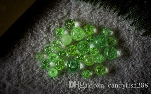 25mm mermerler aydınlık top cam floresan parçacıklar çocuk yo yo cam topları seviyorum