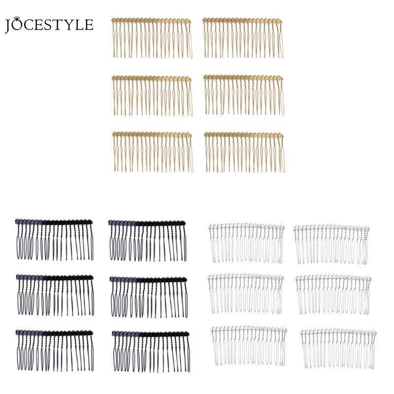 Metal Hair Comb Claw Hairpins Toothed Hairpin DIY Hair Jewelry Wedding Party Accessories