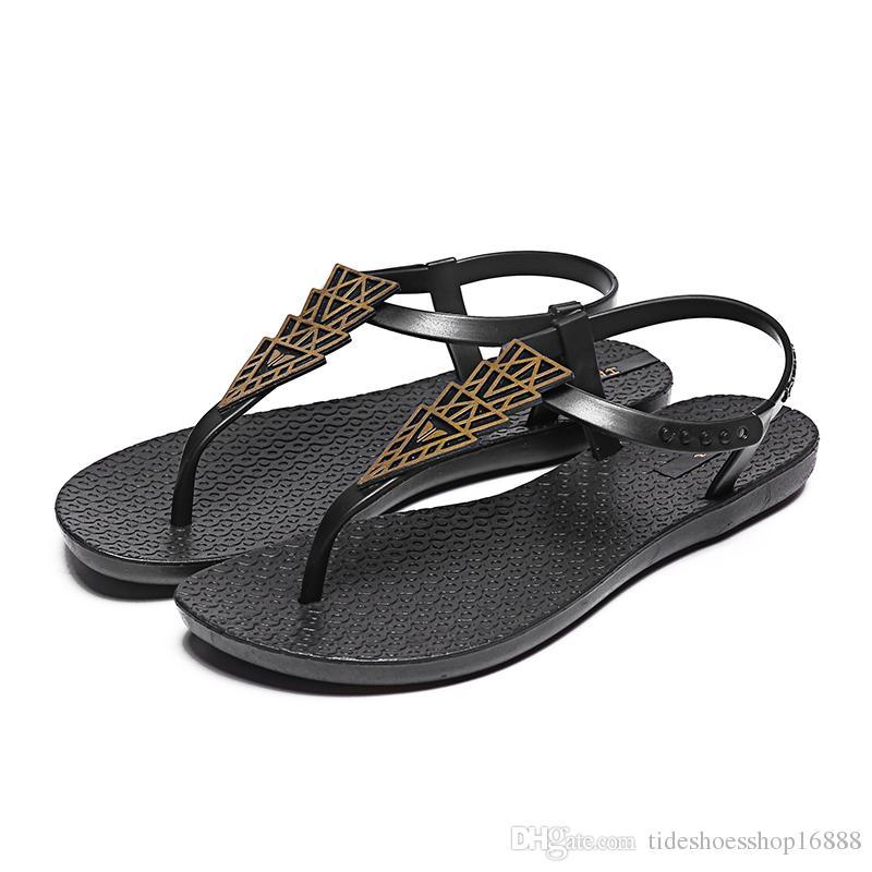 830a9be176f11 Women Fashion Flip Flops Ladies Sandals Femme 2018 Nouveau Summer Flat  Shoeschaussures Femme Ete 2018 Bohemia Causal Ladies Women Shoes Shoes For  Women Nude ...