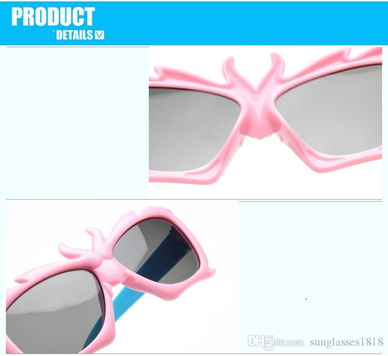 2018 Girl Cool Eyewear Boys Kids Oculos Fashion cartoon Cute Brand Designer Child Gilrs Sunglasses