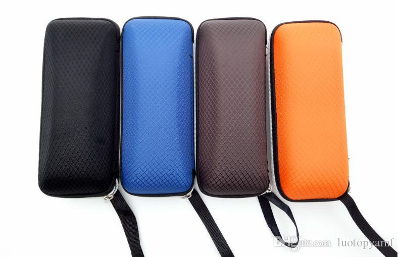 Apparel Accessories 1 Pc Rectangle Grid Zipper Eye Glasses Case Hard Eyewear Box Sunglasses Case Colorful