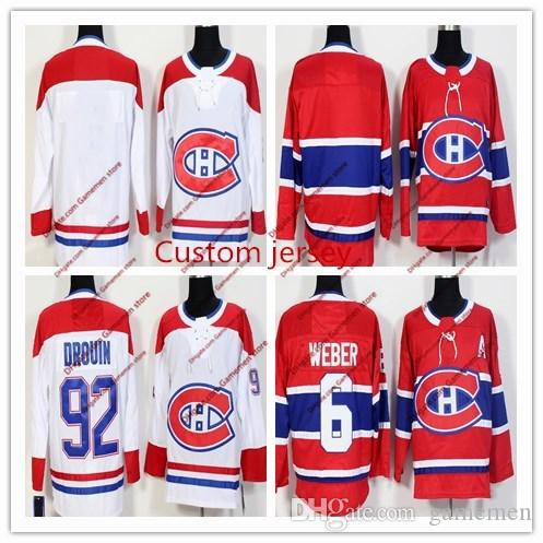 2019 Custom 2018 Montreal Canadiens Ice Hockey Jersey Men S Women S Youth  Any Name Any Number Embroidery Personalized Hockey Stitched Jersey From  Gamemen 565022a18