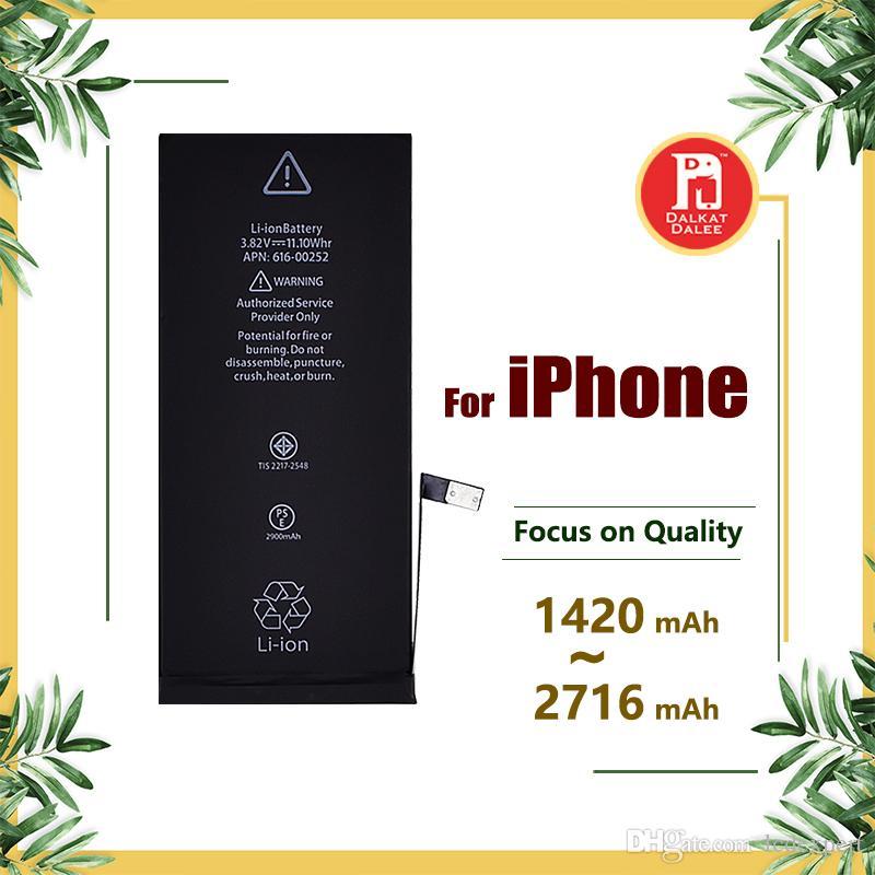 Batterie pour apple iphone 4s 5g 5s 5c 6g 6s 6plus 7g 7 8 plus batteries X remplacement Strong Flex 0 Cycle