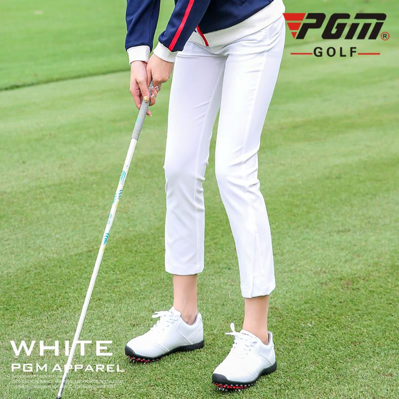 353009ba Spring Autumn Golf Pants Women Clothing Slim Fit High-Elastic Trousers  Ladies Golf Ball Thin Breathable Slim Sports Pants D0502