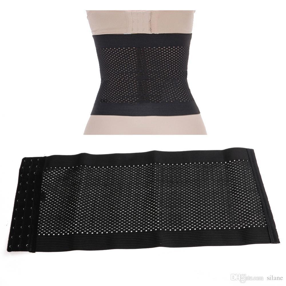 a4c699f1071 2019 Wholesale KLV FeelinGirl Women Saxy Fashion Body Shaper Latex Rubber  Waist Trainer Cincher Underbust Corset Shape From Silane