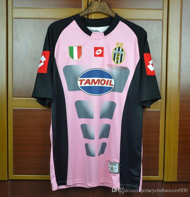 4d7c10dbd 2019 02 03 Italia Buffon Goalkeeper Gaolie Retro Jersys Blue Pink 2002 2003  Champion Final Football Shirts Camiseta Maillot Camisa From  Jerseyclubsoccer000