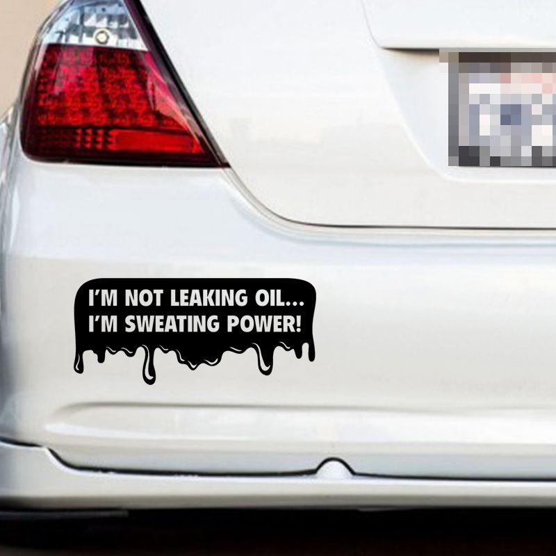Grosshandel Lustige Diesel Aufkleber Sweating Power Funny Aufkleber