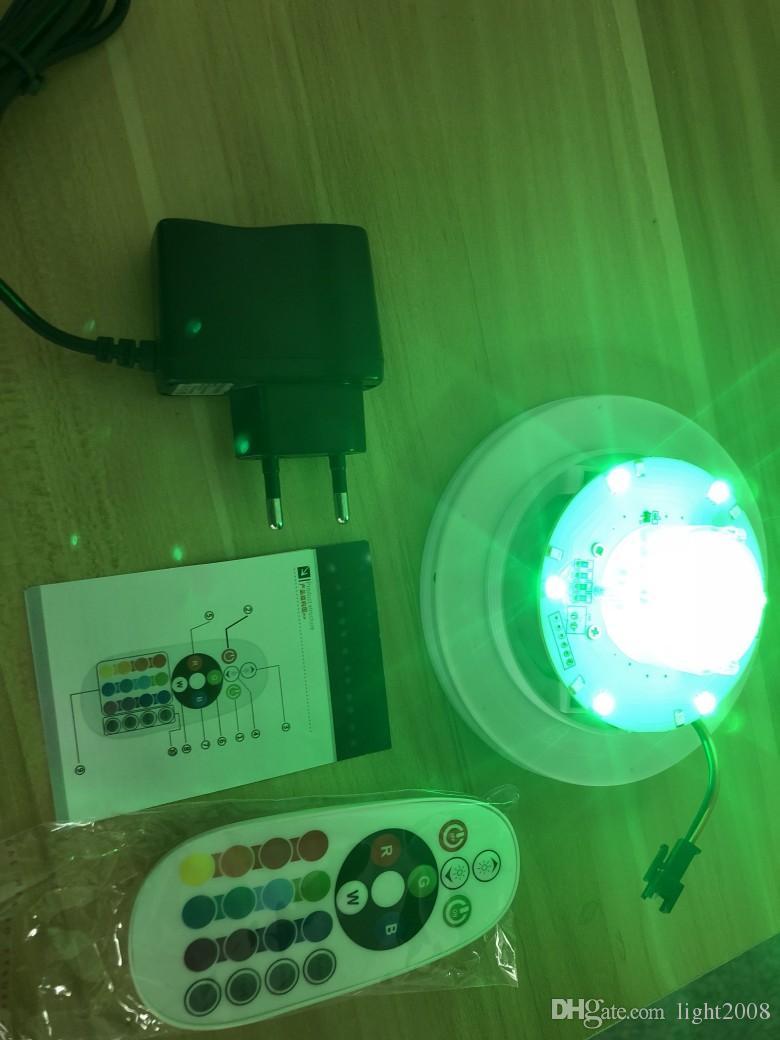 새로운 충전식 LED 빛나는 칵테일 테이블 방수 빛나는 LED 바 테이블 조명 커피 테이블 바 KTV 디스코 파티 AL002