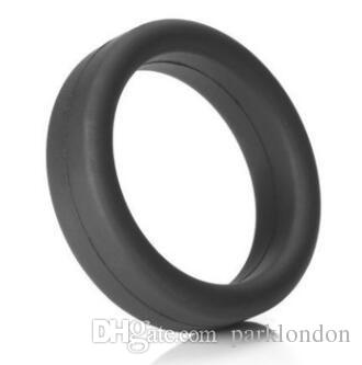 Penis Rings Cock Rings Ball Stretcher Sex Toys Smooth 2019 Touch 100% Silicone Time Delay Male Adult Sex Toys Cock Rings For Men