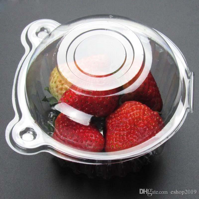 L'imballaggio caldo della torta di plastica eliminabile dei contenitori di torta di cupcakes del contenitore di imballaggio della torta della torta attacca l'attrezzo della cucina del bakeware che spedice liberamente