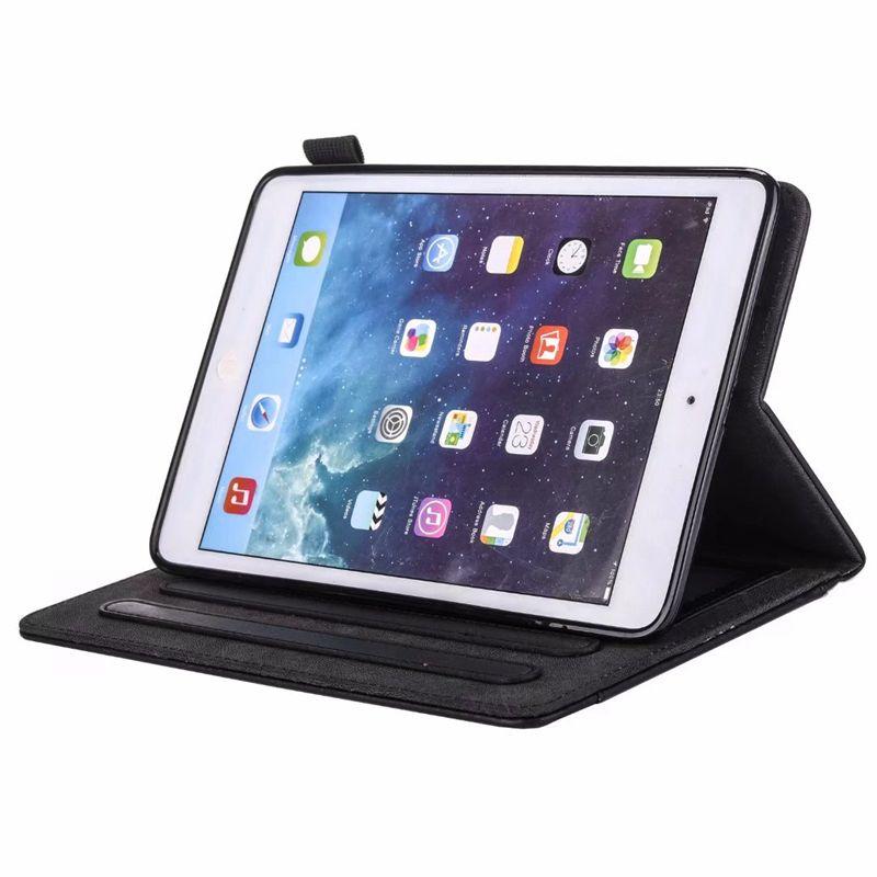 Mini iPad 1 2 3,4, Ipad 2 3 4, 5 6 Air 2 9.7 '', 2017 2018 Portafoglio in pelle PU lusso di Bling Cash Money Pocket Slot scheda coprire pelle custodia