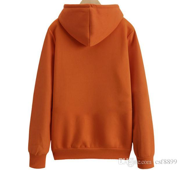 Thick sweater women long sleeve Korean loose thick 2018 new autumn and winter hooded little fresh female student tide