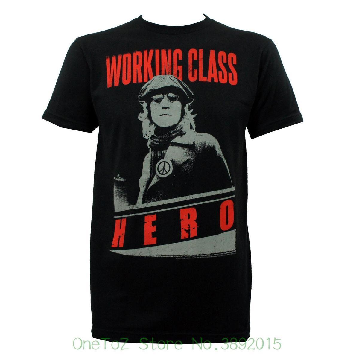 23bc873a729024 Tops Men Tee Shirts Authentic John Lennon Working Class Hero Slim T Shirt  Black S 2xl New One T Shirt A Day One Day T Shirt From Lijian038, $11.79|  DHgate.