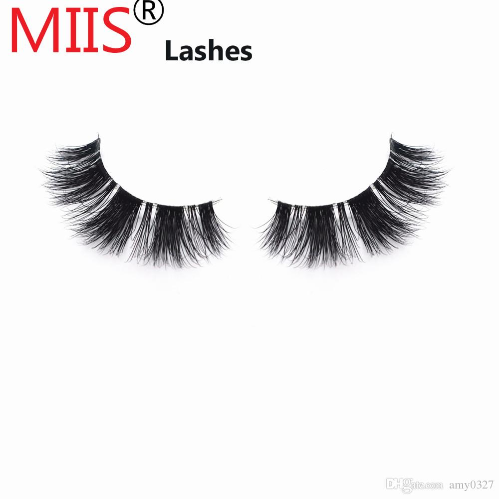 04260d92d0a Miis Eyelashes 3D Eyelash Wholesale Real Mink Lashes With Own Brand Package  alibaba's best-selling 3D mink Eyelashes