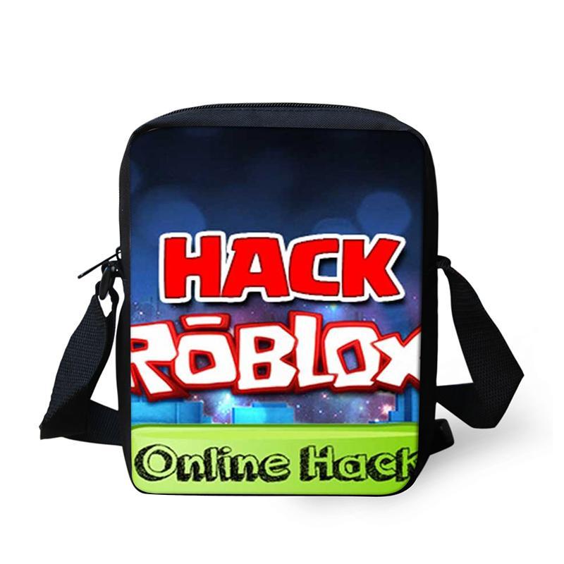 Messenger Bag Roblox Games School Bag Mini Children Cartoon 3D Printing  Cross Body Kids School Supplies For Boys Girls Student Handbag Brands Cheap  Bags ... d0796d625c695
