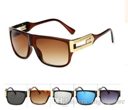 718eb0d484bd Retro Sunglasses Men Vintage Brand Designer Sun Glasses Male Celebrity Hip  Hop Glasses Female Big Frame Eyeglasses 18007 Prescription Glasses Online  Round ...