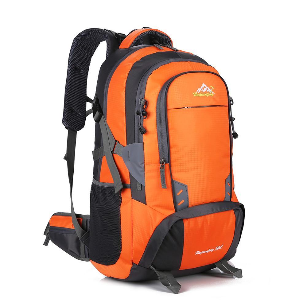 33f6ebd846706 Großhandel 50L Rucksack Outdoor Sport Reise Laptop Daypack Camping Klettern Wandern  Rucksack Für Männer Und Frauen Wasserdicht Von Ajkobeshoes
