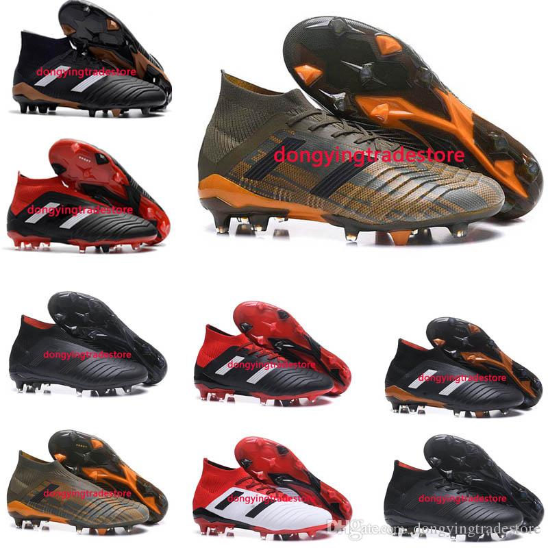 Predator 18+ 18.1 FG Soccer Cleats Chaussures De Football Boots Mens High Top Soccer Shoes Predator 18 Cheap New Hot real for sale best place online discount footlocker finishline y6EpEVl