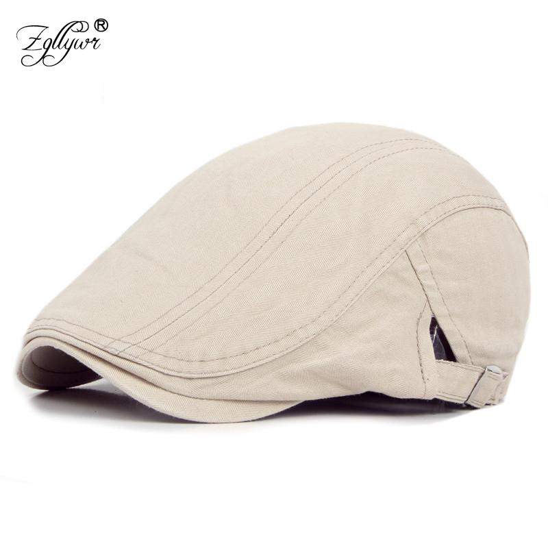 4d5932b53dc Zgllywr Berets Cap for Men Women Summer New Arrival Cotton Adjustable  Peaked Newsboy Hat Casual Ivy Driving Cabbie Flat Cap Berets Cheap Berets  Zgllywr ...