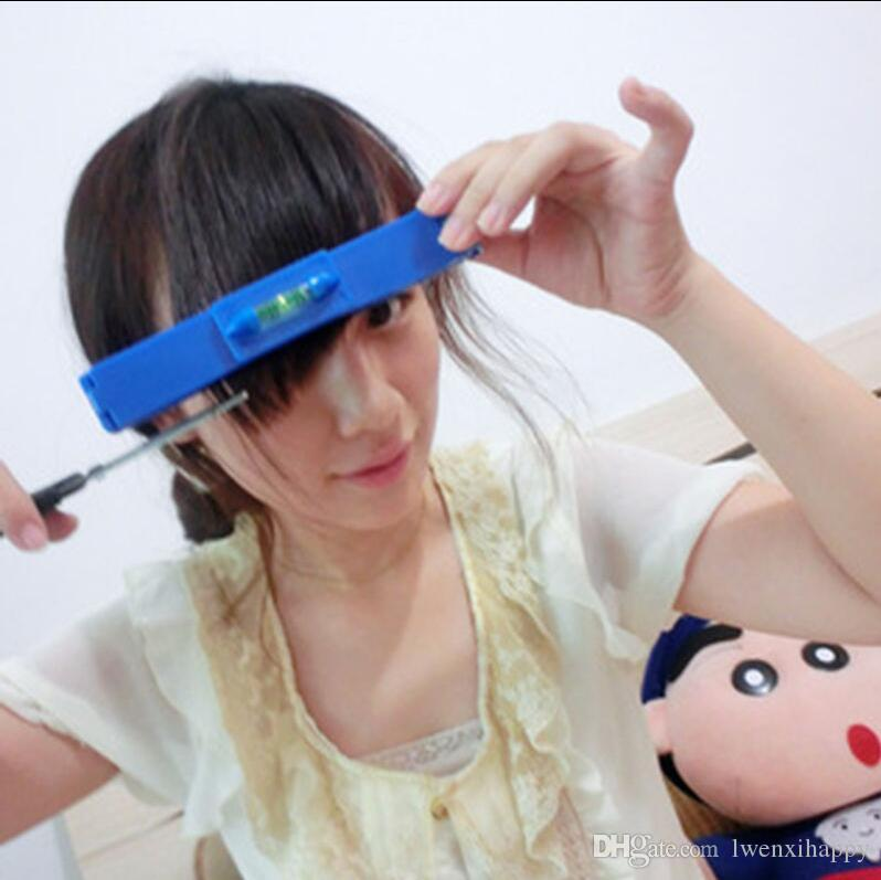 DIY Beauty ABS Clipper Fringe Hair Cutting Level Bangs Clipper Hairstyle Trim Ruler Tool Guide for Layers Fast Shipping