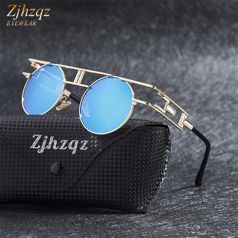 06653665f7 Brand New Round Top Version Sunglasses Metal Frame UV400 Lens Sports ...