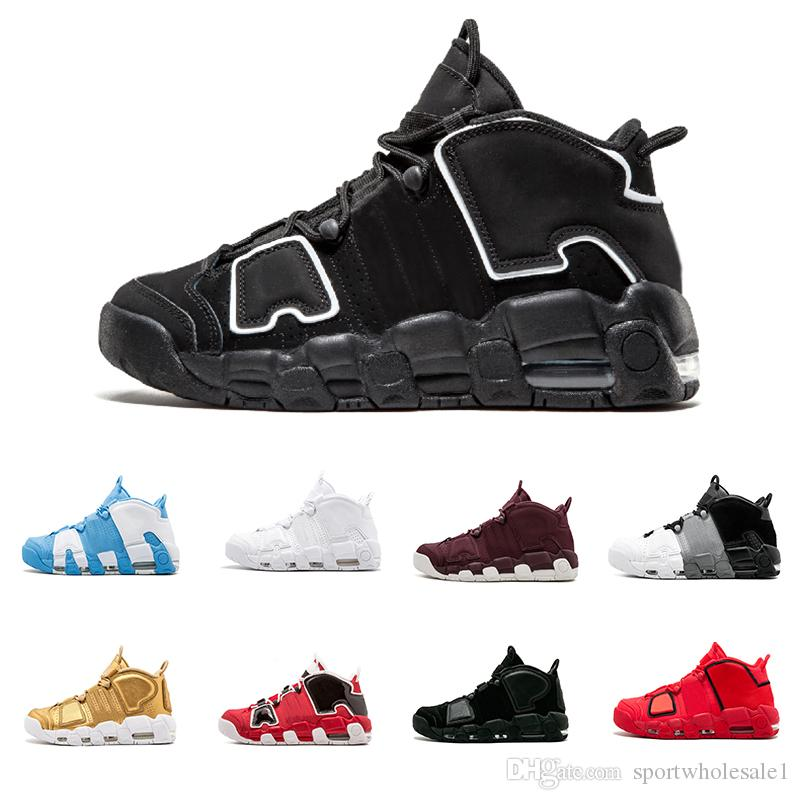 696ae0645d4 High Quality Air More Uptempo SUPTEMPO Basketball Shoes OLYMPIC ...