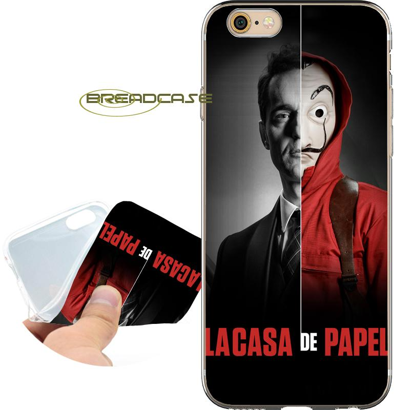 coque iphone 8 plus casa de papel