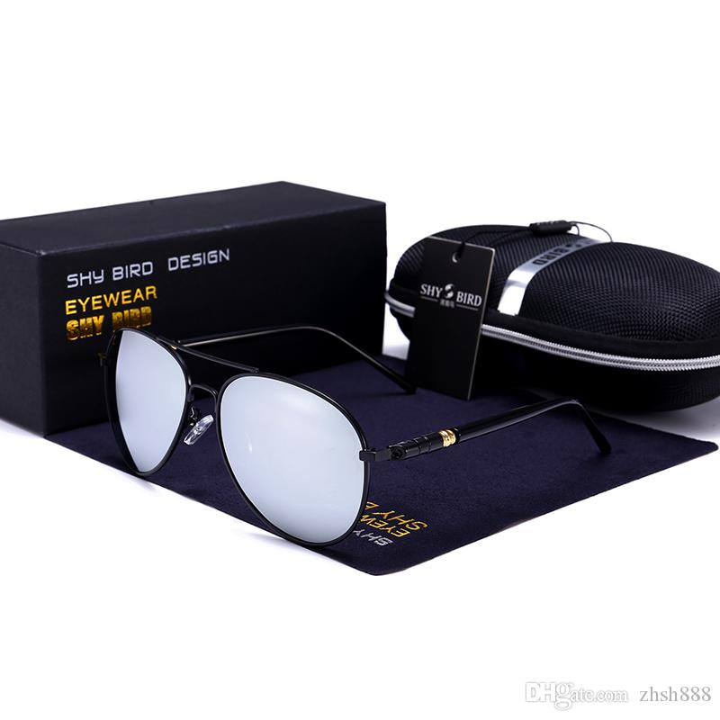 bfe9179dc15a Sunglasses Women Retro Men S Polarized Sun Glasses Classic Brand Designer Sunglasses  Men Driving Eyewear Pilot Sunglasses Unisex Eyeglasses Vintage ...