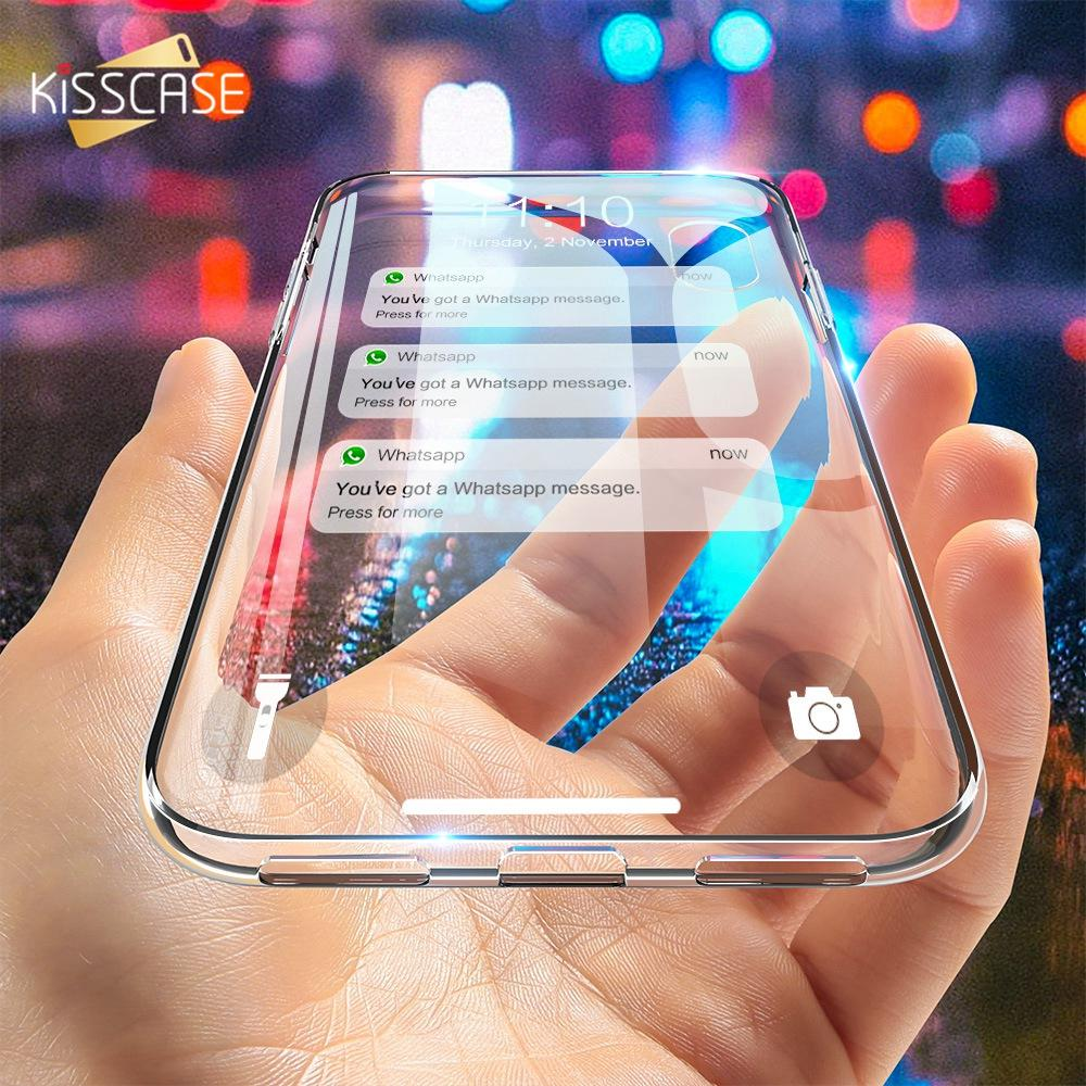 Soft Silicon Case For iPhone 5 5S Se 5C 4S Cover Clear Case For iPhone X XS Max Xr 6 6S 7 8 Plus Accessories
