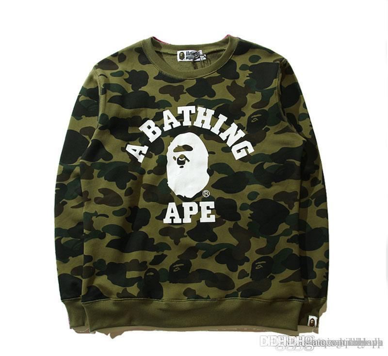 58fe748cc6d Autumn Winter New Popular Logo Camouflage Printed With Velvet ...