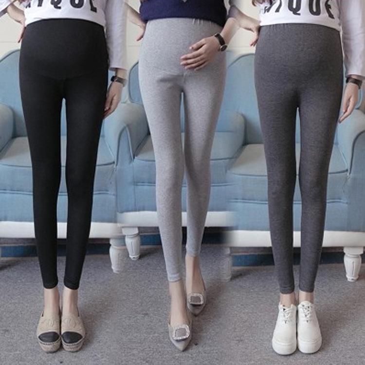 Acheter 2018 Pantalons Pour Femmes Enceintes Automne Leggings Pantalons  Abdominaux Maman Vêtements De Grossesse Vêtements De Grossesse De Grande  Taille De ... 699e140ce1f