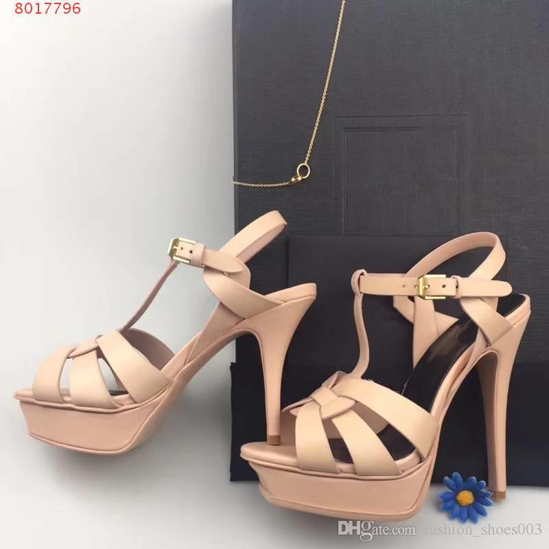 Top-Qualität 2018 Frauen Schuhe Ferse mit 9,5 cm Sexy spitz Pumps kommen mit Logo Staubbeutel Hochzeit Schuhe size34-41