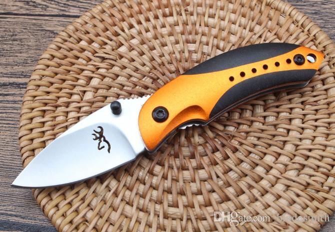 Productos de calidad de exportación Browning - Little Penguin Cuchillo plegable EDC Outdoor Camping Pesca Defensa Regalo de Navidad