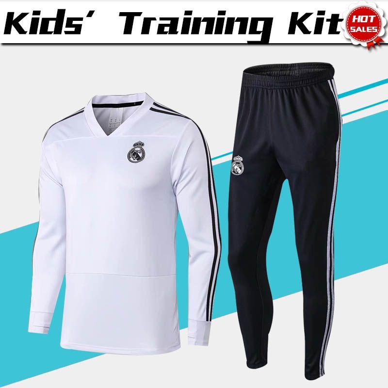 Chándal De Entrenamiento Del Real Madrid Para Niños 2019 Real Madrid ... 382966ac8c761