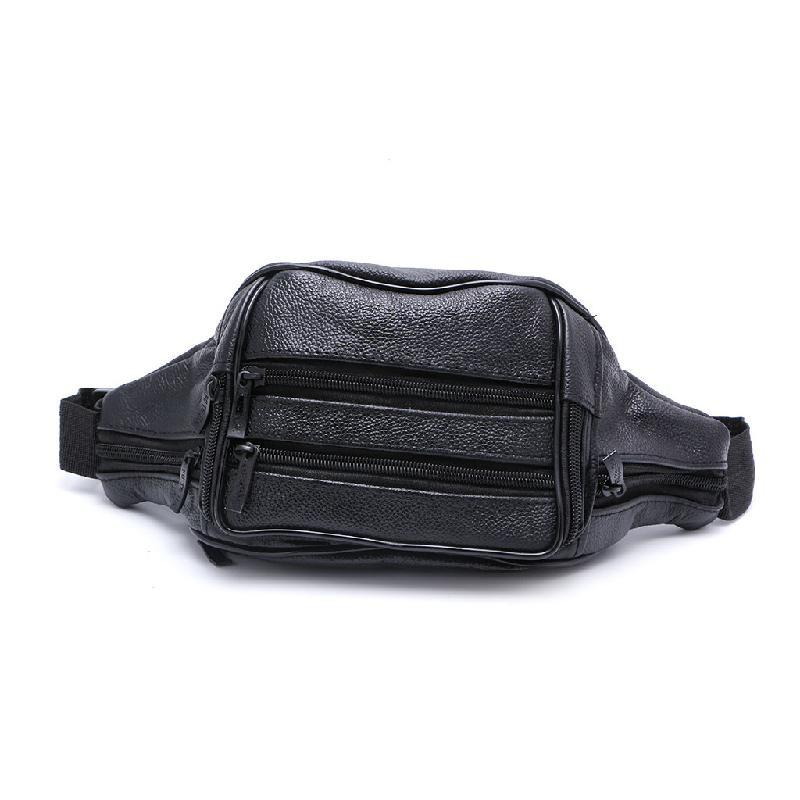 16ef5dd59973 2017 New Arrival Unisex 7 Compartments Waist Pack Bum Belt Bag Pouch Travel  Hip Purse Men Women Black Fashion Casual Pillow Messenger Bags Handbag From  ...